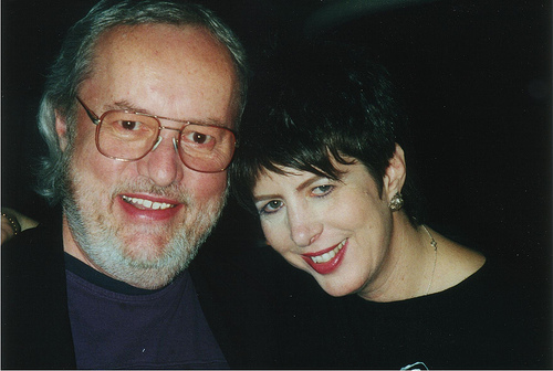 John Brahney with hit songwriter Diane Warren