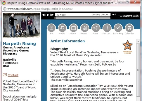 Songwriting Tips, Ideas, Help and More | electronic press kit