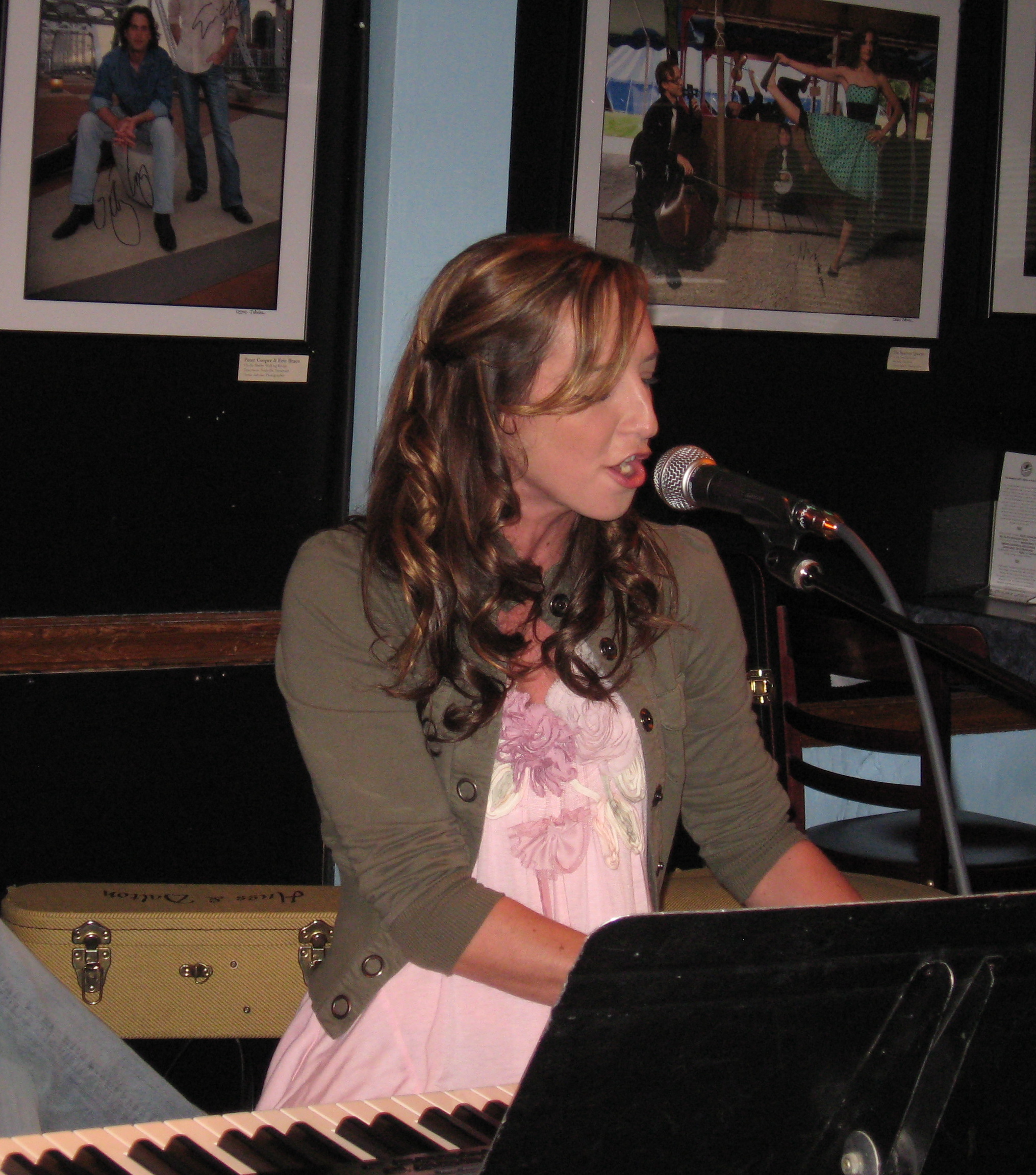 Jenn Bostic, USA Songwriting Competition Honorable Mention Winner