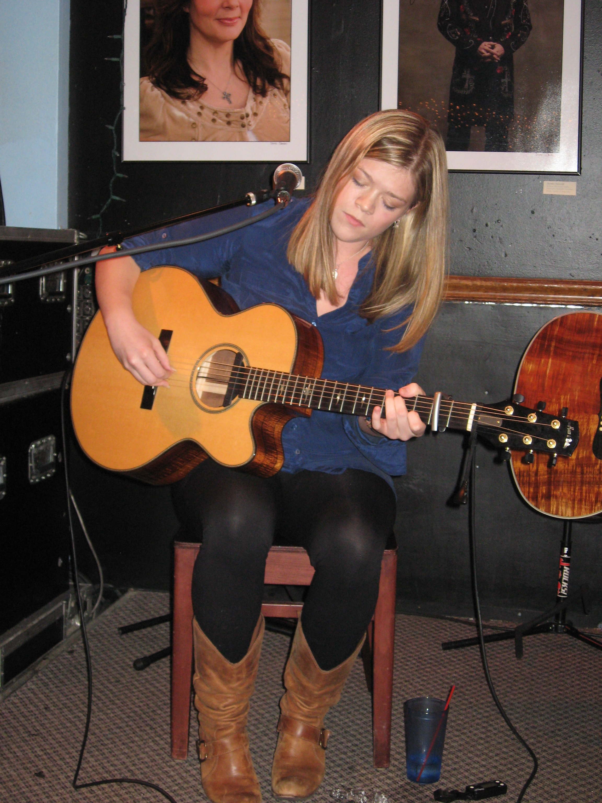 Liz Longley, USA Songwriting Competition honorable mention winner