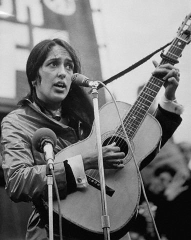 Joan Baez, Singer-Songwriter
