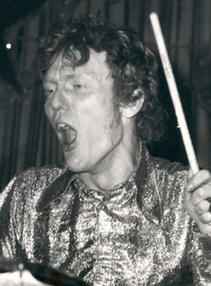 Ginger Baker, legendary drummer from Cream