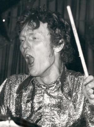 Ginger Baker, legendary drummer from Cream