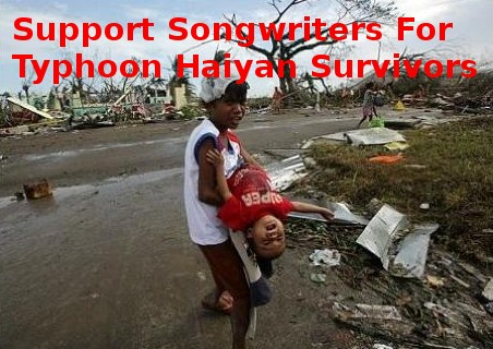 Songwriters For Typhoon Haiyan Survivors