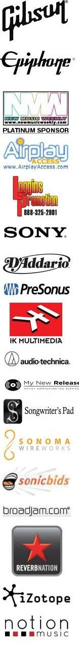 2014 USA Songwriting Competition Sponsors