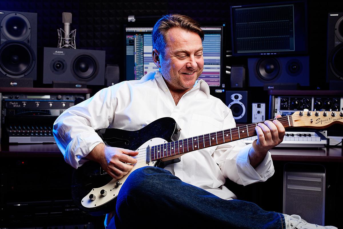 Stefan Held, producer, audio engineer, musician